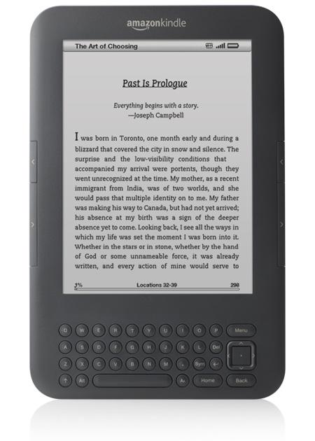 Imagen del Kindle 3
